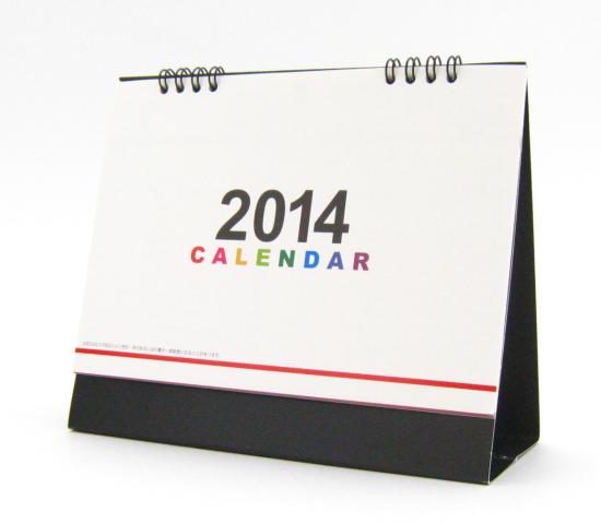 NEWリング式 B6 卓上カレンダー